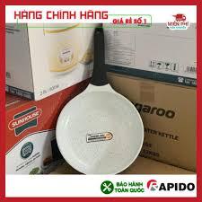 Chảo chống dính bếp từ Rapido 20cm, chảo từ men Đức Rapido 20cm đáy  phẳng,thân và đáy chảo bằng nhôm đúc nguyên khối giảm chỉ còn 245,000 đ