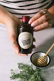 homemade cough syrup honey and thyme