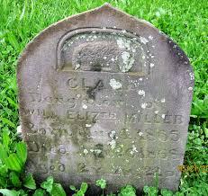 Clara Miller (1865-1868) - Find A Grave Memorial