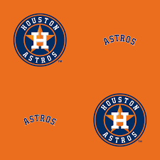 houston astros logo pattern orange