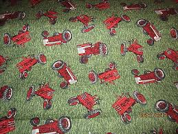 farmall red tractors baby toddler sheet