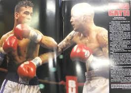 Arturo Gatti / Ivan Robinson. Joel Casamayor. Fight programme ...