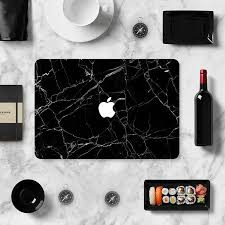 Violence Black Marble Laptop Decal Sticker Skin Cover For Macbook Pro Air Retina Ebay