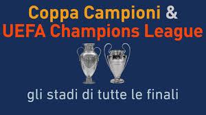 Classifica degli stadi sede di finale di UEFA Champions League e ...
