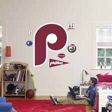Fathead Philadelphia Phillies Throwback Logo Wall Decal
