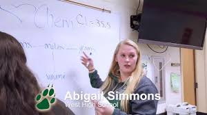 February's Rotary Club Student of the Month: Abigail Simmons