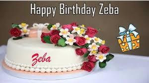 happy birthday zeba image wishes✓