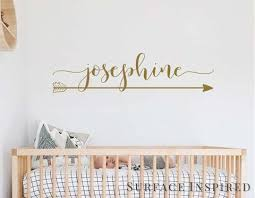 Wall Decals Personalized Names Nursery Wall Decal Kids Josephine With Surface Inspired Home Decor Wall Decals Wall Art Wooden Letters