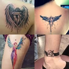 Tatuaz Aniol 22 Najpiekniejsze Wzory Tatuazy Z Aniolami