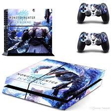 2020 Fanstore Skin Sticker Protective Vinyl Decal Monster Hunter World For Playstation Ps4 Console And 2 Remote Controller Cool Design From Fanstore 10 68 Dhgate Com