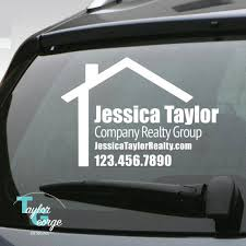 Realtor Car Decal X2f Custom Realtor Decal X2f By Taylorgeorgedesigns Real Estate Investing Books Real Estate Advertising Real Estate Fun