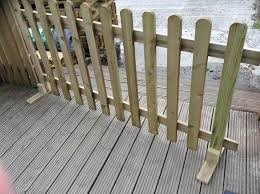 Portable Wooden Picket Fence Panel 6ft Sections 2ft 3ft 4ft Heights Freestanding Pressure Treated Picket Fencing Garden Fencing Picket Fence Panels Fence Panels Patio Fence