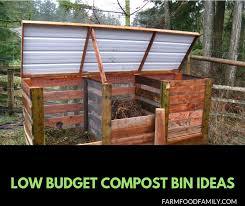 17 low budget diy compost bin ideas