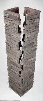 Slatestone Faux Stone Column Sleeves Wraps