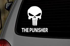 Free Marvel The Punisher Car Decal Accessories Listia Com Auctions For Free Stuff