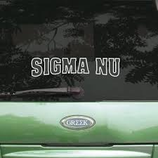 Sigma Nu Accessories Something Greek
