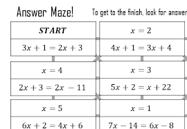 variable on both sides go teach maths