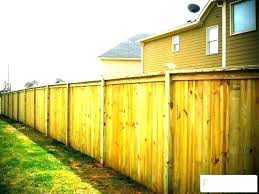 Cost To Fence Backyard Wooden Calculator For Privacy Of A Price Muconnect Co