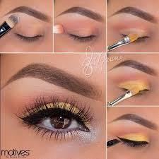 macbrushes 0 on yellow eye makeup