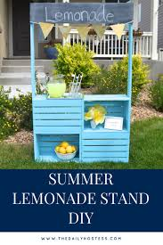 cute details a lemonade stand story
