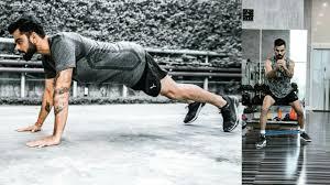 virat kohli workout routine strict