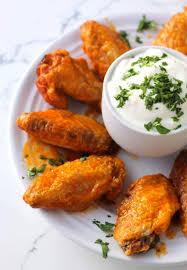 the best crispy baked hot wings paleo