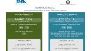 Detrazioni bonus casa, pronto il sito per le comunicazioni ENEA