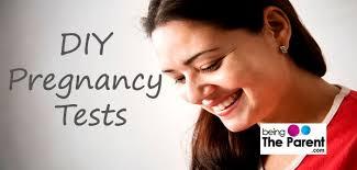 10 mon homemade pregnancy tests