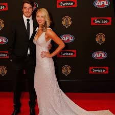 Candice Quinlan partner of Hawthorn's Isaac Smith in Kyha @OneDay Bridal  wearing Kalfin Jewellery... #kalfinjewellery #k… | One day bridal, Fashion,  Formal dresses