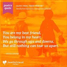 strength of a friendship best friend best friend poem