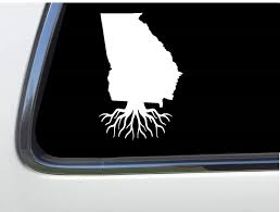 Amazon Com Thatlilcabin Georgia Roots 6 State Decal As996 Automotive