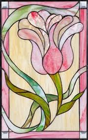 custom traditional stained glass window
