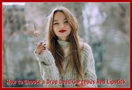 drop dead gorgeous red lipstick