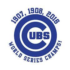 Chicago Cubs Mlb World Series Baseball Yeti Cup Vinyl Decal Car Window Sticker Eur 3 39 Picclick Ie