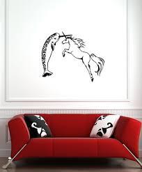 Wall Narwhal V Unicorn Design 1 Vinyl Wall Decal C Etsy