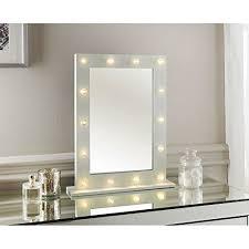 led light detailed dressing table