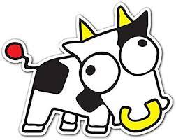 Amazon Com Milk Cow Customi Jdm Decal Sticker For Car Truck Macbook Laptop Air Pro Vinyl Automotive