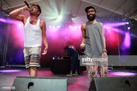 Himanshu Suri and Kool A.D. of Das Racist perform onstage during Day...  News Photo - Getty Images