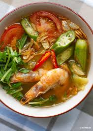Vietnamese Sweet & Sour Shrimp Soup ...