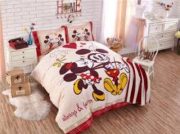 mickey and minnie mouse bedding sets