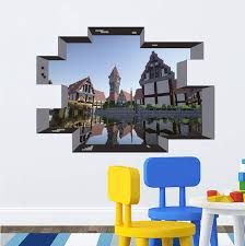 Newest Minecraft Wall Stickers Wallpaper Kids Room Decal Minecraft Home Decoration Free Shipping 2015 Sticker Wall Decorative Door Stickersdecorative Tile Stickers Aliexpress