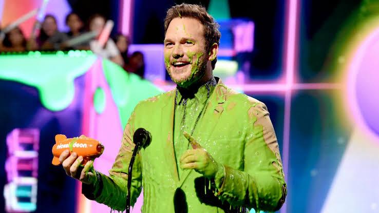 """Resultado de imagem para Chris Pratt Kids' Choice Awards jurassic world"""""""