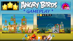 Play ANGRY BIRDS Gameplay   Mobile Games iPad / ios / Tablet ...