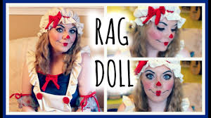 rag doll makeup tutorial costume