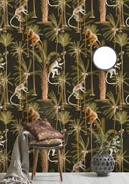 barbados anthracite wallpaper by mind