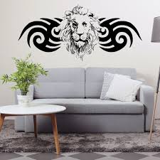 Decorative Winged Lion Decal