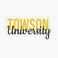 Towson University Stickers Redbubble