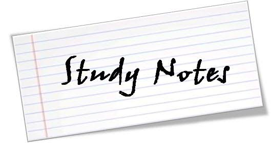 Image result for study notes""