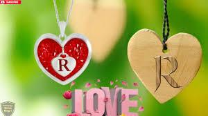 r letter whatsapp status r love r