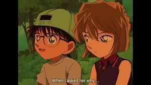 Conan x Ai (16) [EP 329 Moment] Haibara and Conan interaction ...